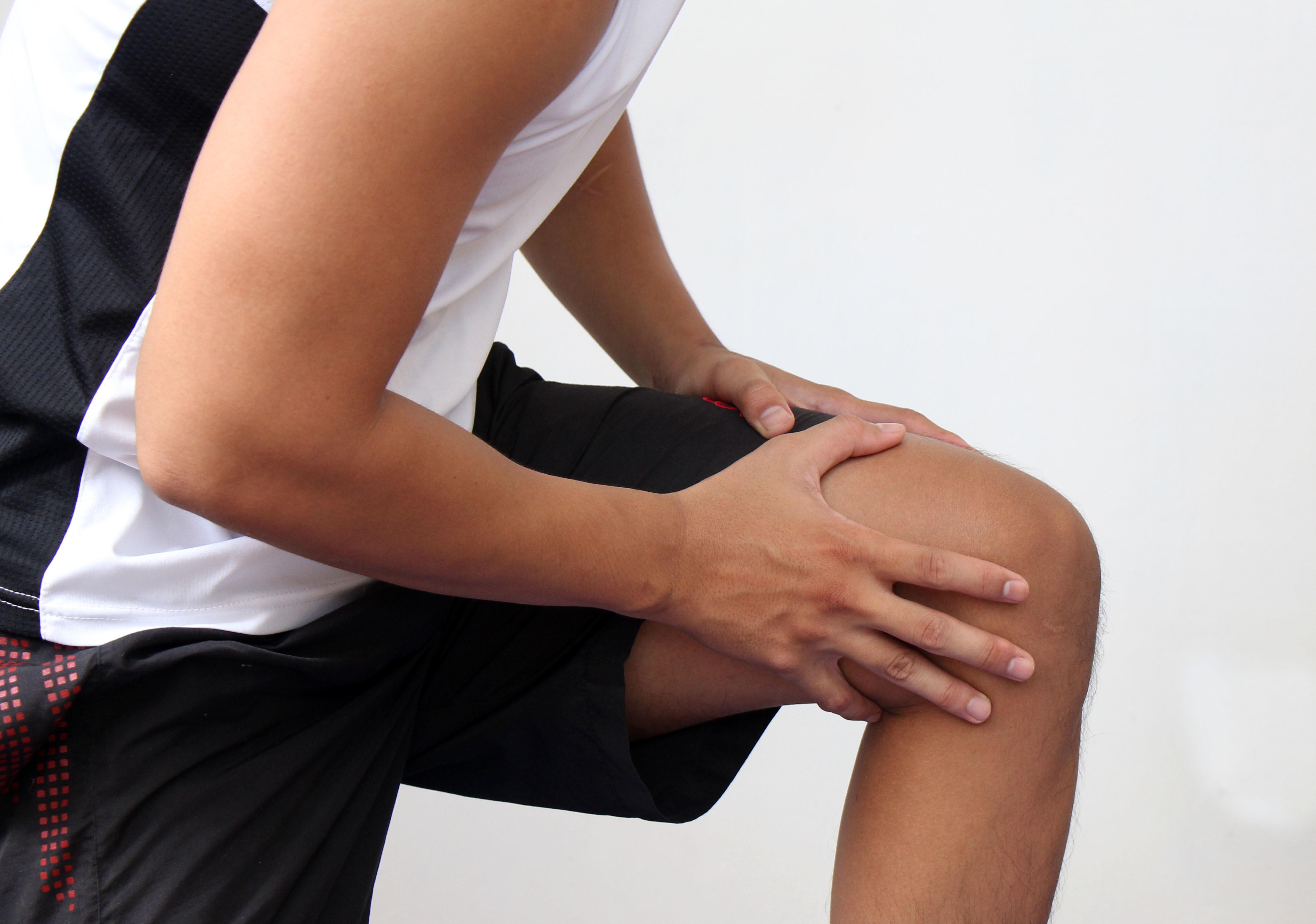 ジャンパー膝の施術