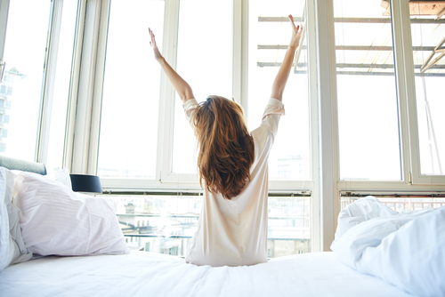 身体の回復のために、睡眠時間を長く確保する