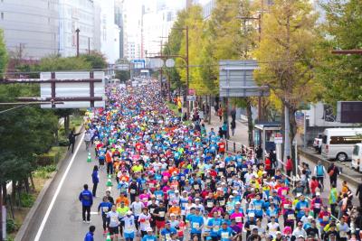 11月11日は福岡マラソン