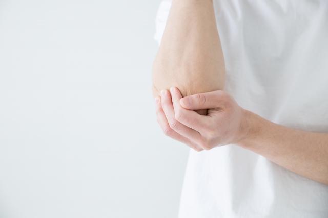 福岡市南区の肘の痛みの施術