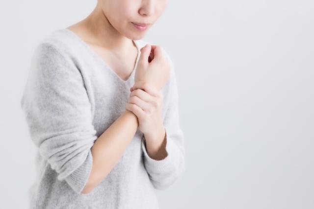 手首の痛みの施術